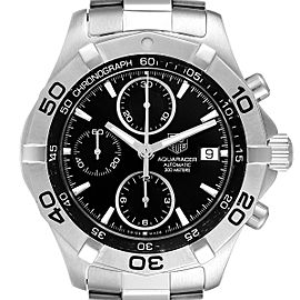 Tag Heuer Aquaracer Black Dial Chronograph Mens Watch CAF2110