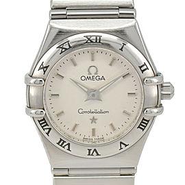 OMEGA Constellation Mini 1562.30 Silver Dial Quartz Ladies Watch