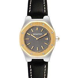 Audemars Piguet Royal Oak 28mm 18k Yellow Gold Steel Ladies Watch