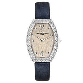 Vacheron Constantin Egerie White Gold Diamond Ladies Watch 25541