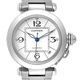 Cartier Pasha C 35mm White Dial Steel Unisex Watch