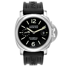 Panerai Luminor Marina Automatic 44mm Steel Mens Watch PAM00104 Box Papers