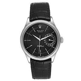 Rolex Cellini Date 18K White Gold Automatic Mens Watch 50519