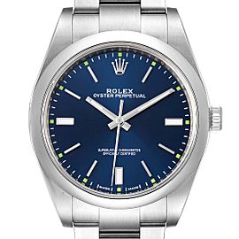 Rolex Oyster Perpetual 39mm Automatic Steel Mens Watch