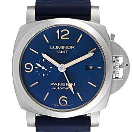 Panerai Luminor 1950 3 Days GMT 44mm Blue Dial Watch