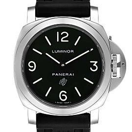 Panerai Luminor Base Logo 44mm Steel Mens Watch
