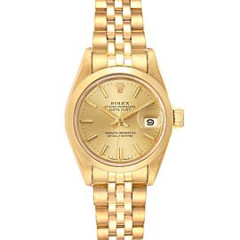 Rolex President Datejust 18k Yellow Gold Ladies Watch