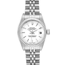 Rolex Datejust 26 Steel White Gold White Dial Ladies Watch