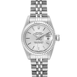 Rolex Datejust Steel White Gold Jubilee Bracelet Ladies Watch