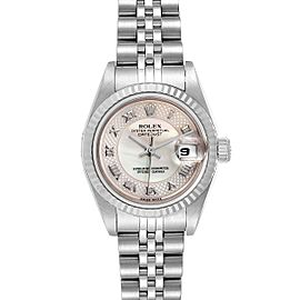 Rolex Datejust Decorated Mother of Pearl Dial Ladies Watch