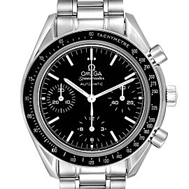 Omega Speedmaster Reduced Automatic Chronograph Steel Watch 3539.50.00