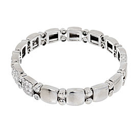 Sonia B 14K White Gold with 1.70ct. Diamond Flex Bracelet