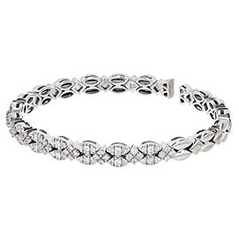 Sonia B 14K White Gold & 1.75ct. Diamond Flex Bracelet