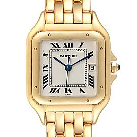 Cartier Panthere XL Blue Sapphire Yellow Gold Unisex Watch