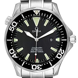 Omega Seamaster 41mm Black Dial Stainless Steel Mens Watch 2264.50.00