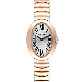 Cartier Baignoire Mini 18K Rose Gold Ladies Watch