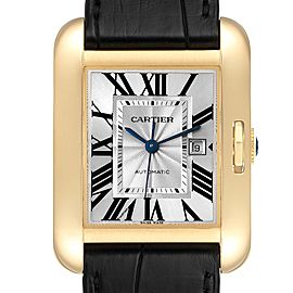 Cartier Tank Anglaise Yellow Gold Ladies Watch