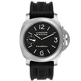 Panerai Luminor Marina 44mm Titanium Black Dial Mens Watch PAM00177