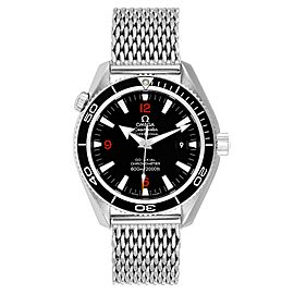 Omega Seamaster Planet Ocean 42 Co-Axial Steel Mens Watch