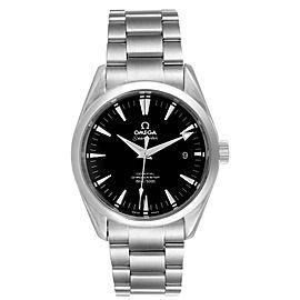 Omega Seamaster Aqua Terra Black Dial Steel Mens Watch 2503.50.00