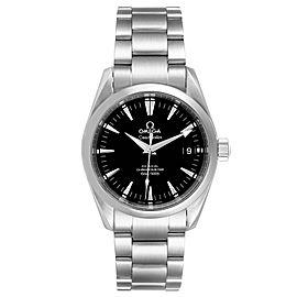 Omega Seamaster Aqua Terra 36 Black Dial Steel Watch