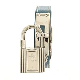 Hermes Kelly Quartz Watch Stainless Steel and Leather 20