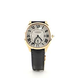 Drive de Cartier Automatic Watch Rose Gold and Alligator 41