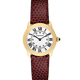 Cartier Ronde Solo Steel 18K Yellow Gold Small Ladies Watch