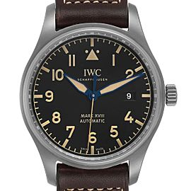 IWC Pilot Mark XVIII Heritage Titanium Mens Watch