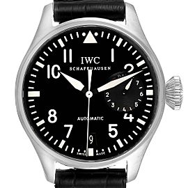 IWC Big Pilots 46mm Black Dial Automatic Steel Mens Watch