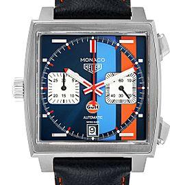 Tag Heuer Monaco Gulf 2018 Chronograph Steel Mens Watch