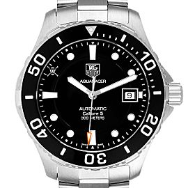 Tag Heuer Aquaracer Limited Edition Black Dial Steel Mens Watch