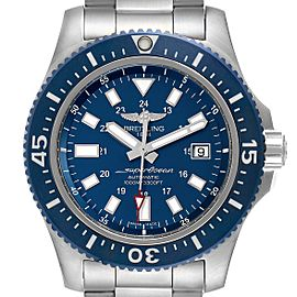 Breitling Aeromarine Superocean 44 Blue Dial Watch
