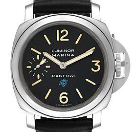 Panerai Luminor Acciaio Logo 44mm Steel Mens Watch