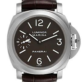Panerai Luminor Marina 44mm Titanium Mens Watch