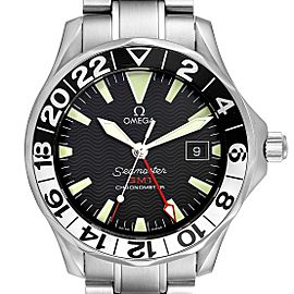 Omega Seamaster GMT 50th Anniversary Steel Mens Watch