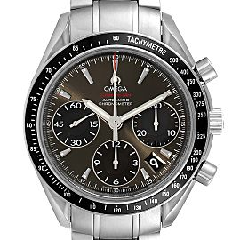 Omega Speedmaster Date Gray Dial Mens Watch