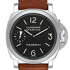 Panerai Luminor Marina 44mm Steel Mens Watch PAM00111