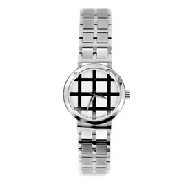 Movado 0605767 84 A1 Square Pattern Silver Dial Quartz Women's Watch
