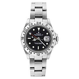 Rolex Explorer ll 16570 Stainless Steel Black Face Mens Watch