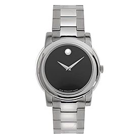 Movado 0605746 Junior Sport Black Museum Dial Swiss Quartz Watch