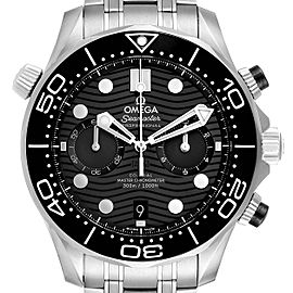 Omega Seamaster 44 Chronograph Mens Watch 210.30.44.51.01.001 Box Card