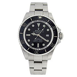 Rolex Sea Sea Dweller 116660 Stainless Steel Deep Black Dial Black Mens Watch
