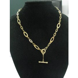 Roberto Coin 18K Yellow Gold Sapphire Link Necklace