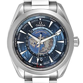 Omega Seamaster Aqua Terra Worldtimer GMT Watch 220.10.43.22.03.001
