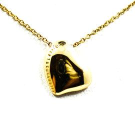 Tiffany & Co. Elsa Peretti 18K Yellow Gold Heart Pendant Necklace