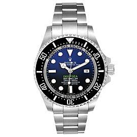 Rolex Seadweller Deepsea Cameron D-Blue Steel Watch Card