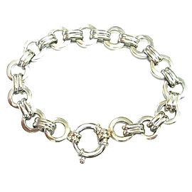Aaron Basha 18K White Gold Bracelet