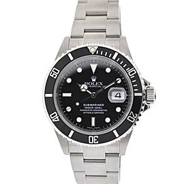 Rolex 16610 Submariner 40mm Stainless Steel Watch F Serial Watch