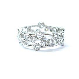 Tiffany & Co. Platinum Bubbles Diamond Ring